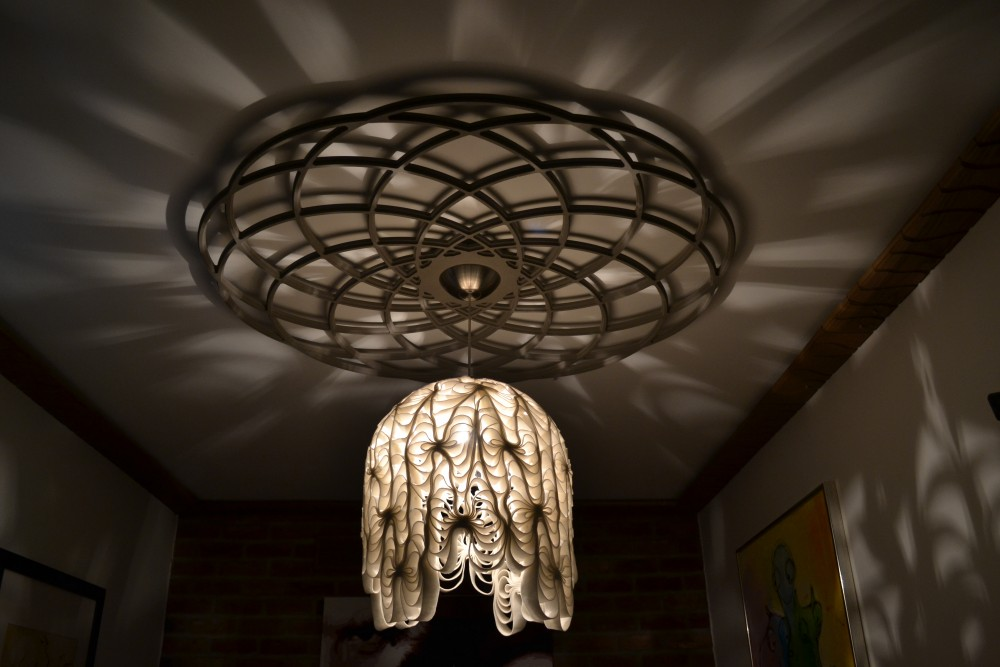 Orbital shadow ceiling rose 1200mm £590