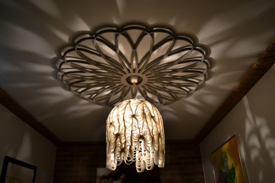Spiro shadow ceiling rose 1200mm £550
