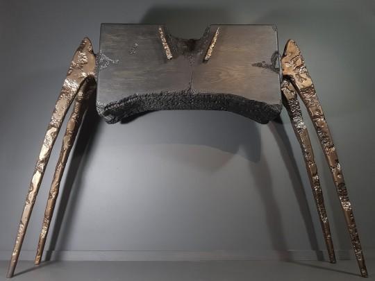 ID Cabinet, Oak & Bronze P.O.A.